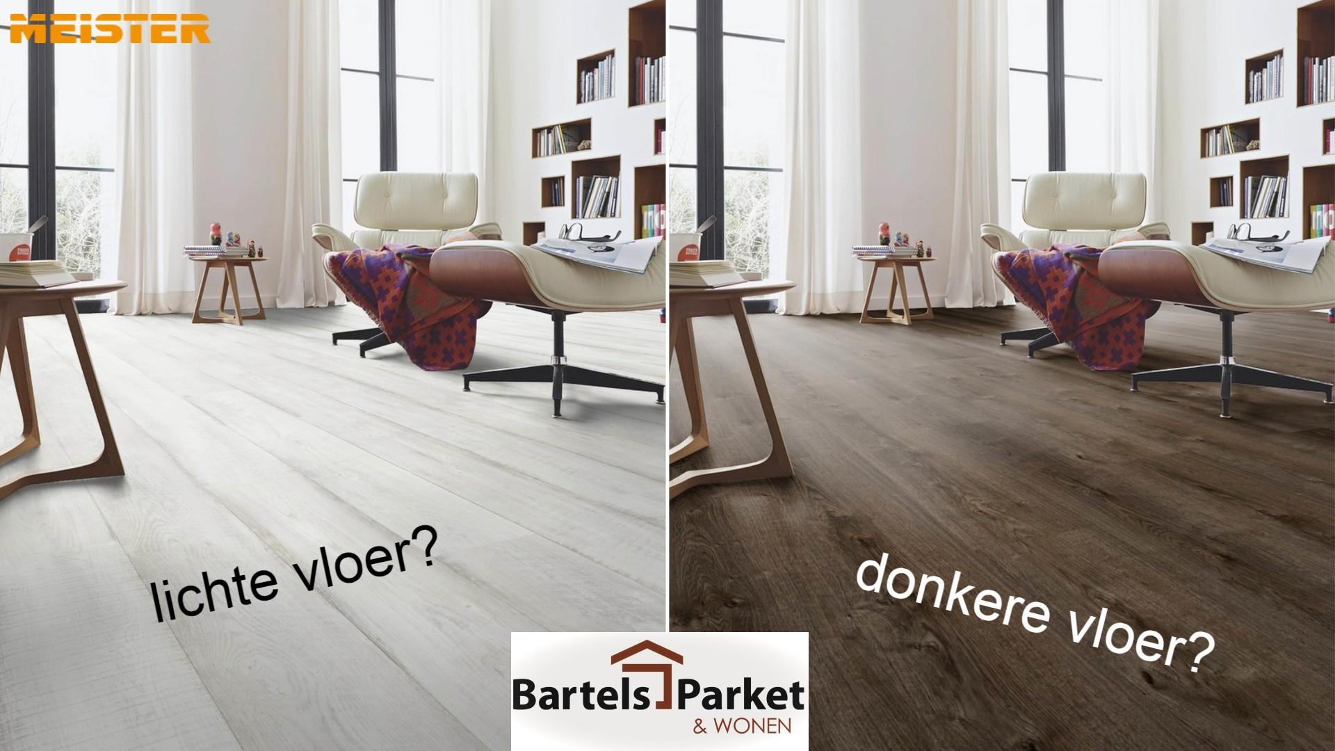 Lichte of donkere vloer